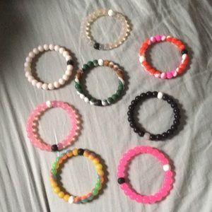 Lot of 8 Lokai Bracelets